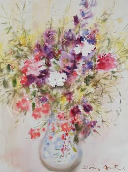 Diósy Antal - Csendélet mezei virágokkal
