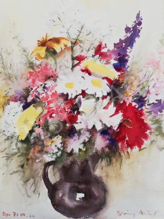 Eladó Diósy Antal - A születésnapi csokor, 1972 festménye