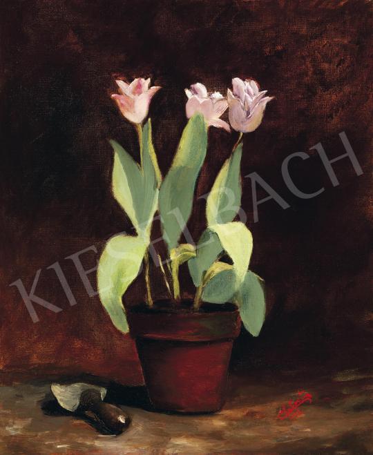 Eladó Chabert, Egon - Virágcsendélet, 1932 festménye