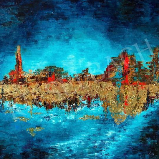 Eladó  Náray Tamás - Eufrátesz festménye