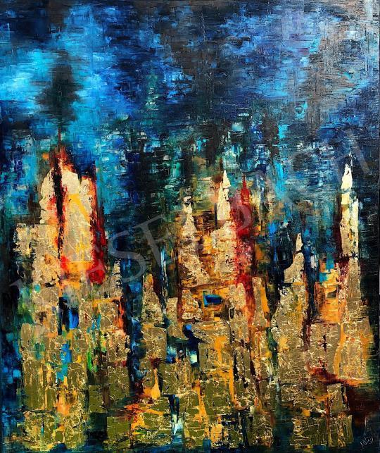 Eladó  Náray Tamás - Bábel tornyai festménye
