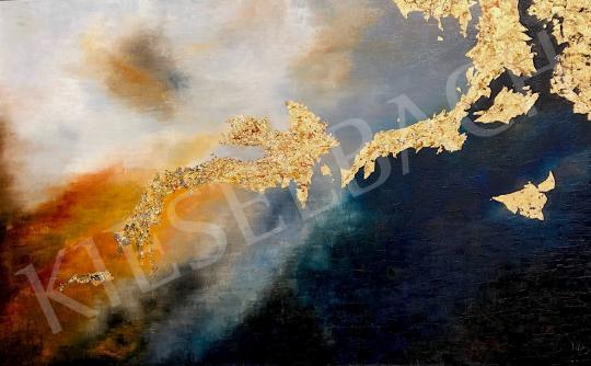 Eladó  Náray Tamás -  Kilencedik tábla - Gilgames balladája festménye