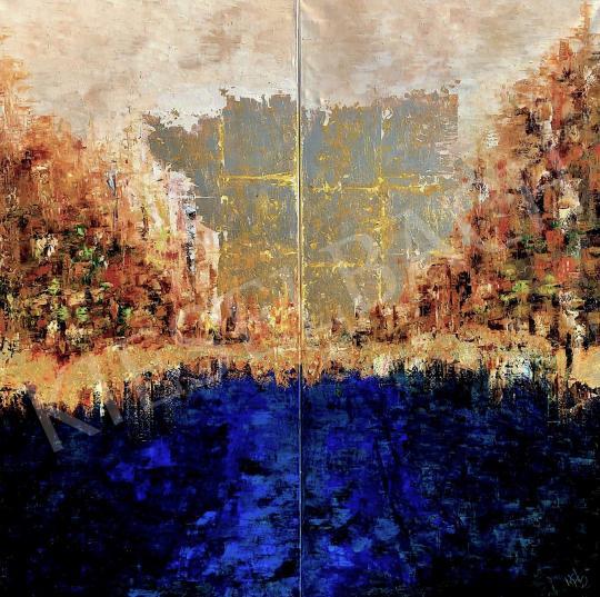 Eladó  Náray Tamás - Istár - Kapu - diptichon festménye