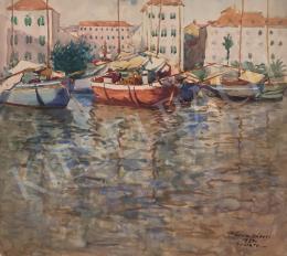 Kássa Gábor - Spalatoi kikötő, 1937