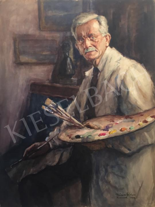 For sale  Kássa, Gábor - Portrait of Jenő Kárpáthy 's painting