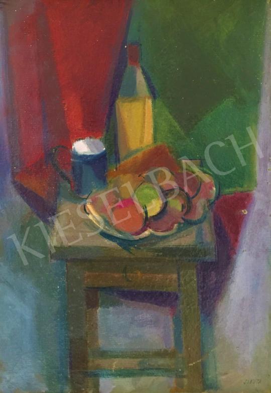 For sale Sikuta, Gusztáv - Studio Still Life in Szentendre 's painting