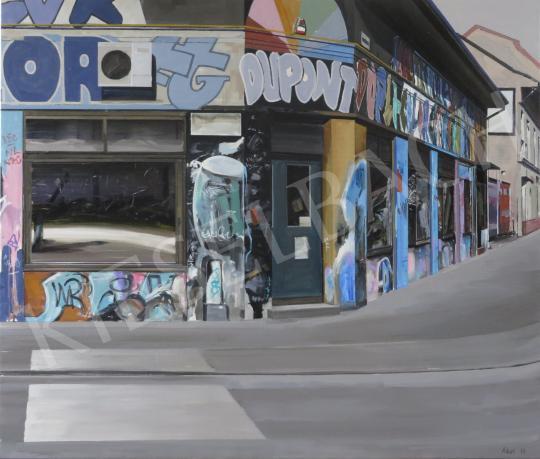 Eladó  Szabó Ábel - Sarokház, 2015 festménye