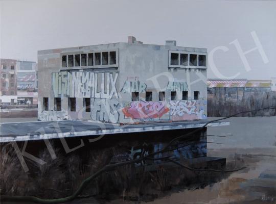 Eladó  Szabó Ábel - Transformer, 2016 festménye