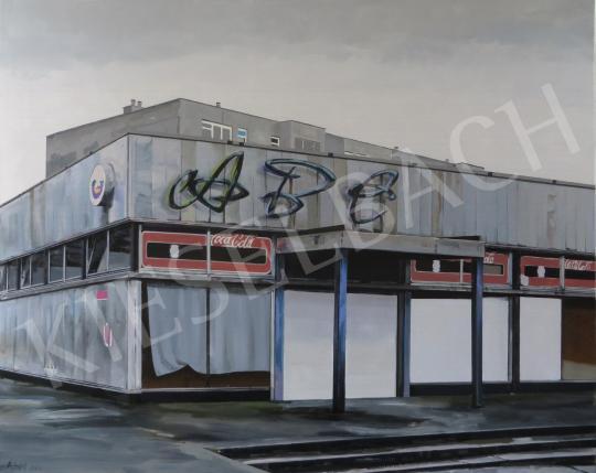 Eladó  Szabó Ábel - Üzlet, 2015 festménye