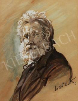 Lotz Károly - Önarckép