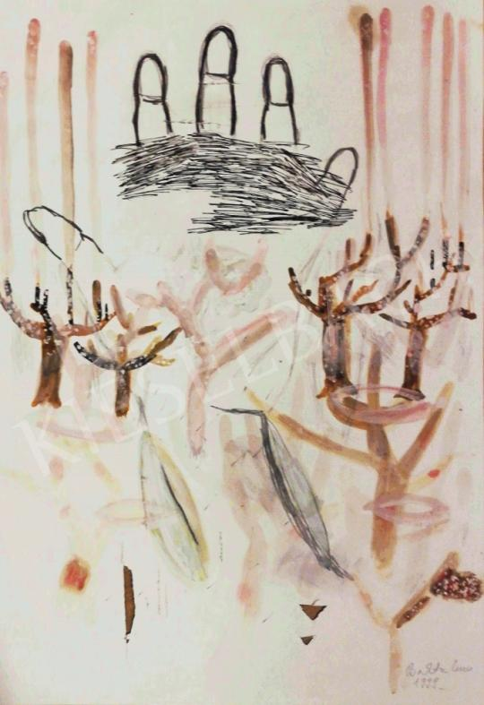 For sale  Bukta, Imre - Blossoming Trees, 1999 's painting