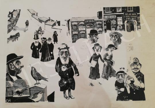 Eladó  Somogyi Győző - Galícia, 1914 festménye