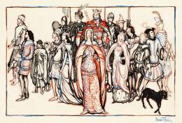 Batthyány Gyula - Nagy Lajos király (1326-1382) udvara
