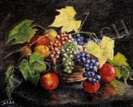 Sztelek Norbert - Ősz gyümölcsös csendélet
