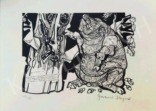Eladó  Hajnal János - Disinteresse festménye