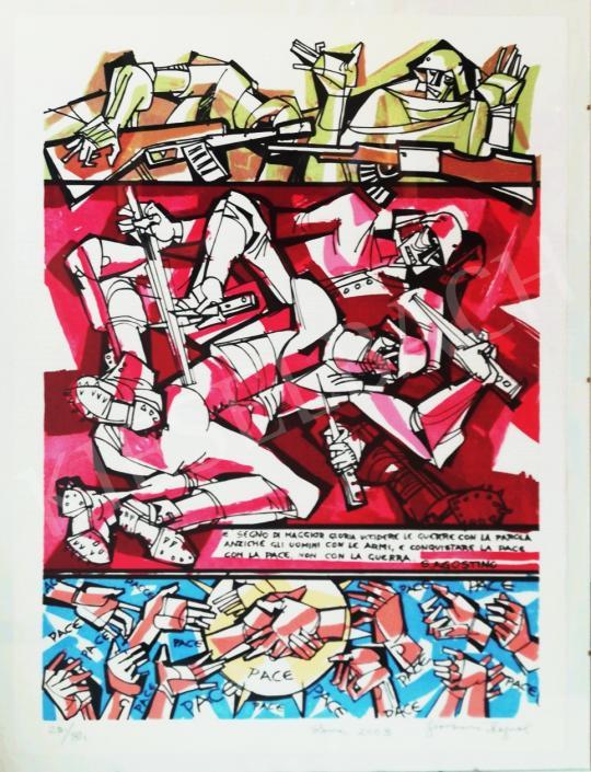 Eladó  Hajnal János - Pace/Béke, 2003 festménye