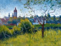 P. Kováts, Ferenc - Spring in Nagybánya, 1927