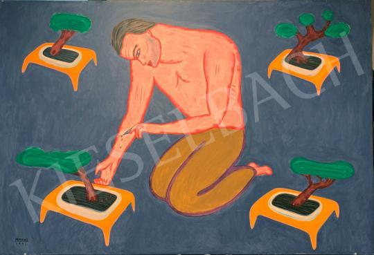 Eladó  Rácmolnár Sándor - Hogy nőjön a bonsai festménye