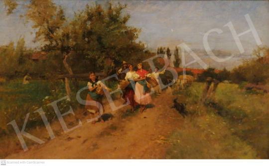 Eladó Deák-Ébner Lajos - Hazatérés festménye