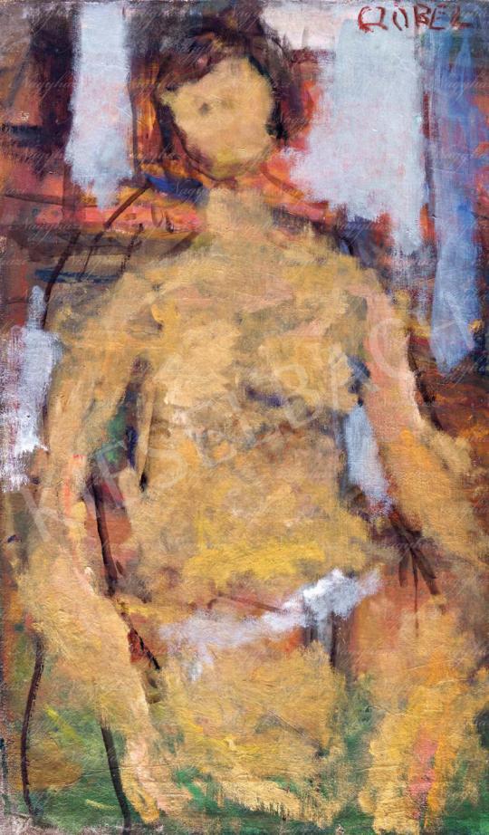 Eladó  Czóbel Béla - Női akt enteriőrben festménye