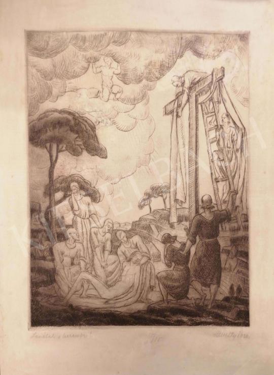 Eladó  Kmetty János - Levétel a keresztről,1920 festménye