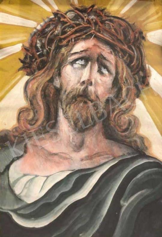 Eladó  Scheiber Hugó - Krisztus festménye