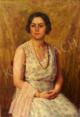 Bajnai Tóth Lajos - Fehér ruhás nő