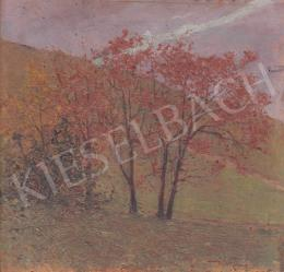 Basch, Árpád - Autumn Trees on the Meson
