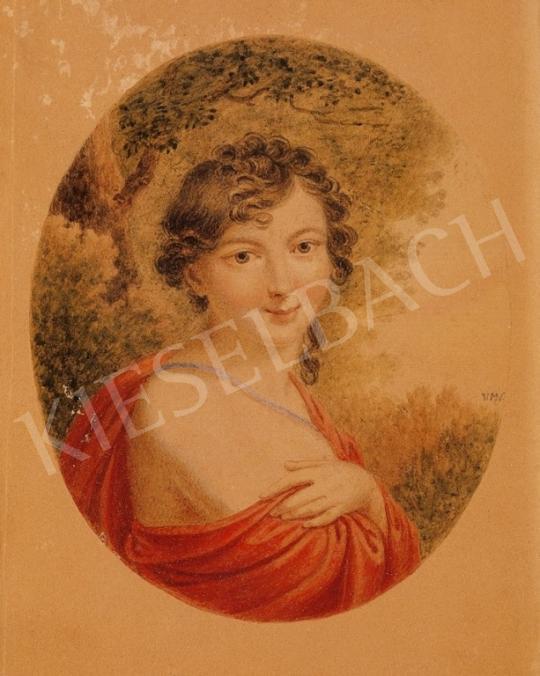 Ismeretlen festő - Női portré | 6. Aukció aukció / 154 tétel