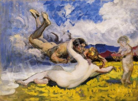 Thorma János - Szerelmesek a mezőn | 6. Aukció aukció / 168 tétel