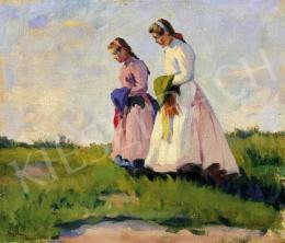 Nyilasy Sándor - Sétáló lányok