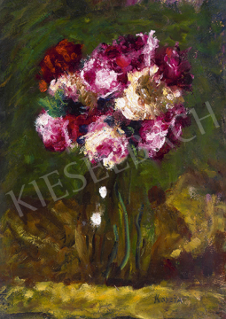 Koszta József - Rózsák vázában, 1920-as évek   64. Őszi Aukció aukció / 10 tétel