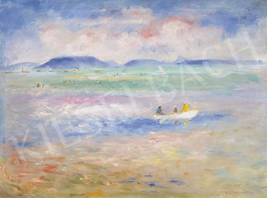 Iványi Grünwald Béla - Balaton (Nyár, csónakázás, Badacsony) | 64. Őszi Aukció aukció / 18 tétel