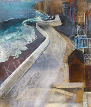 Bernáth Aurél - Téli tengerpart (Pourville), 1928   64. Őszi Aukció aukció / 24 tétel