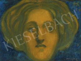 Ferenczy Károly - Szecesszió (Női fej), 1894