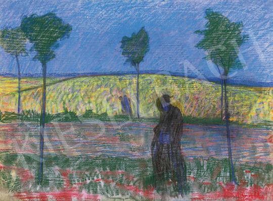 Haraszthy Brunecker Károly - Hajnali randevú, 1910-es évek   64. Őszi Aukció aukció / 33 tétel