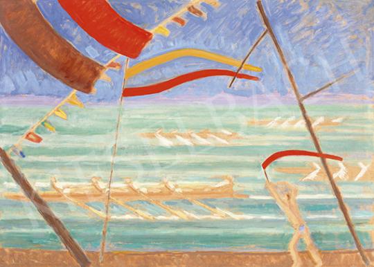 Bor Pál - Regatta (Evezősök) | 64. Őszi Aukció aukció / 42 tétel
