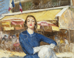 Fried Pál - Párizsi nő a