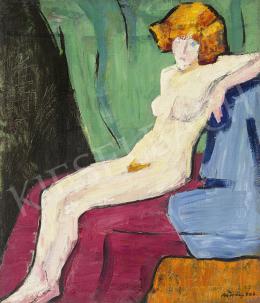 Móricz Margit - Vörös akt, 1926
