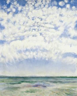Csók István - Felhők Balatonaligánál, 1929