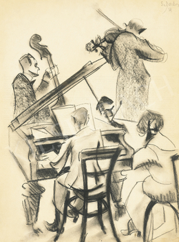 Scheiber Hugó - Zenélő társaság (Kvintett), 1922