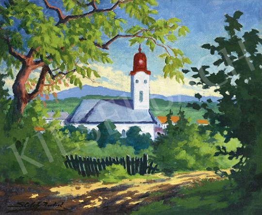 Sztelek Norbert - Nagybánya látképe, 1930 körül | 64. Őszi Aukció aukció / 75 tétel