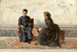 Margitay, Tihamér - The Courtship, 1891