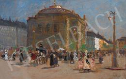 Berkes Antal - Nagyvárosi impresszió, 1910-es évek