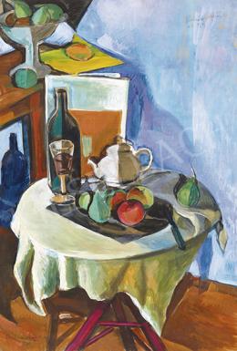 Perlrott Csaba, Vilmos - Studio Still-Life in Nagybánya, 1929-30