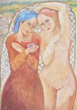 Kádár Béla - Art deco lányok