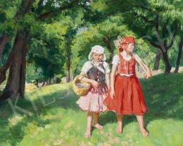 Glatz Oszkár - Kislányok a ligetben, 1942