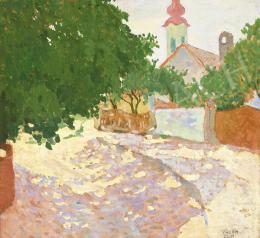 Kádár Béla - Kisvárosi utca (Szolnok), 1910 körül