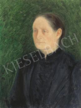 Rippl-Rónai József - Édesanyám, 1895