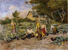 Deák Ébner, Lajos - Noon Resting
